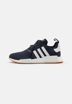 adidas Originals - NMD R1 UNISEX - Sneakersy niskie - collegiate navy/footwear white