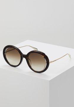 Alexander McQueen - Gafas de sol - havana/gold