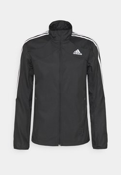 adidas Performance - MARATHON - Laufjacke - black/white