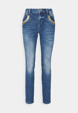 Mos Mosh - WAVE  - Straight leg jeans - blue