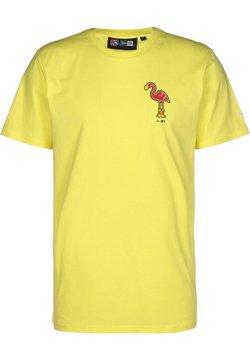 New Era - T-shirt imprimé - yellow