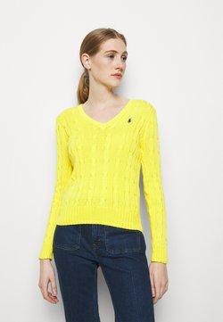 Polo Ralph Lauren - CLASSIC - Strickpullover - elite yellow