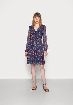 Anna Field - PRINTED DRESS - Day dress - blue/multi-coloured
