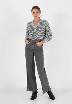 Scalpers - GABINY  - Jeans a zampa - dark grey