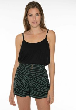 Protest - KIKI  - Shorts - black/evergreen