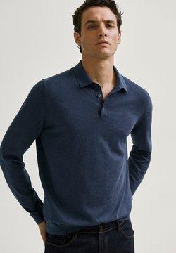 Massimo Dutti - Stickad tröja - blue