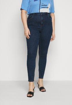 Vero Moda Curve - VMLOA - Jeans Skinny Fit - dark blue denim