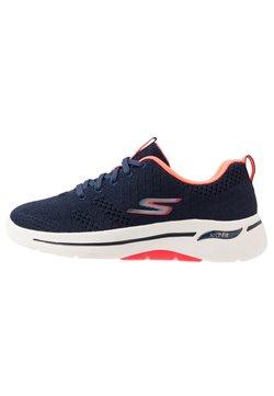 Skechers Performance - GO WALK ARCH FIT - Scarpe da camminata - navy/coral