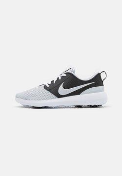 Nike Golf - ROSHE G - Obuwie do golfa - pure platinum/black/white