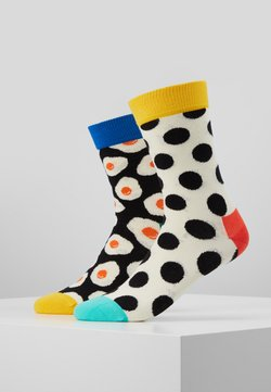 Happy Socks - SUNNY SIDE UP DOT SOCK 2 PACK - Chaussettes - multi