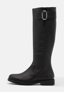 HUGO - PIPER FLAT BOOT - Stiefel - black