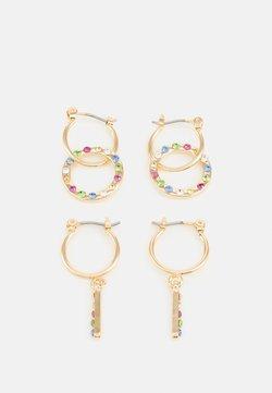 Pieces - PCSANNE EARRINGS 2 PACK - Earrings - gold-coloured/multi