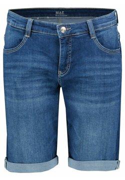 MAC - Jeans Shorts - blueblack