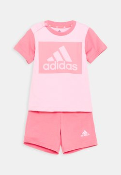 adidas Performance - SET  - Krótkie spodenki sportowe - light pink/hazy rose