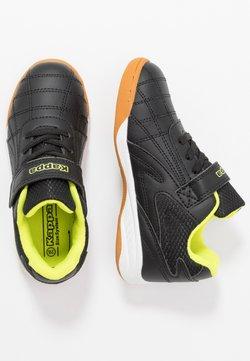 Kappa - FURBO UNISEX - Gym- & träningskor - black/yellow