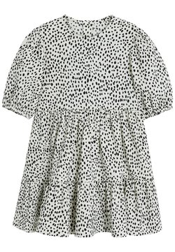 Next - DALMATION PRINT - Korte jurk - white