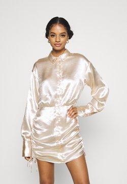 Gina Tricot - SIDNEY SHIRT DRESS - Cocktailkleid/festliches Kleid - sandshell