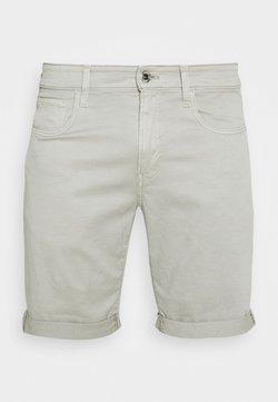 G-Star - 3301 SLIM - Jeans Shorts - bracket stretch twill - lt orphus