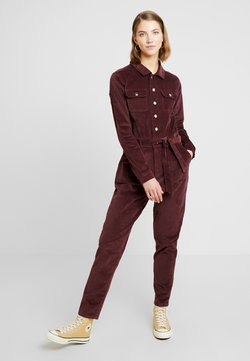 Missguided - MICRO BOILER SUIT - Combinaison - deep red