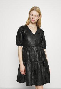 YAS - YASVIBI DRESS - Korte jurk - black