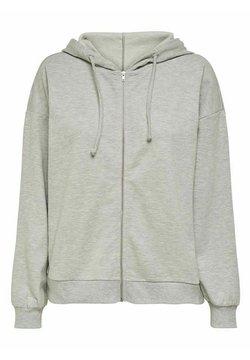 ONLY - Zip-up hoodie - light grey melange