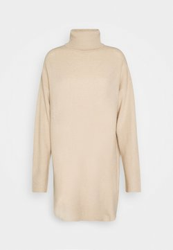 Nly by Nelly - LONG ROLL NECK  - Strickpullover - beige