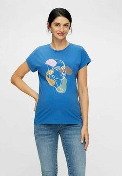 MAMALICIOUS - MLTERESA - Camiseta estampada - bright cobalt