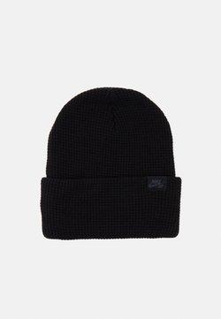 Nike SB - BEANIE UTILITY WAFFLE - Bonnet - black