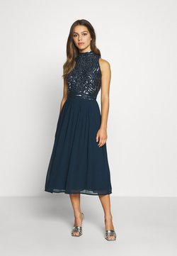 Lace & Beads Petite - ANETE DRESS - Cocktailkleid/festliches Kleid - navy