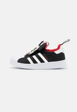 adidas Originals - SUPERSTAR 360 UNISEX - Matalavartiset tennarit - core black/footwear white/vivid red