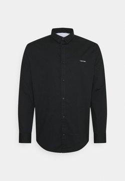 Calvin Klein - SLIM FIT STRETCH - Skjorte - black