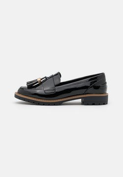 New Look Wide Fit - WIDE FIT KREME - Loafers - black