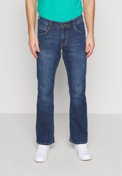 Mustang - OREGON - Bootcut jeans - denim blue