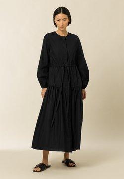 IVY & OAK - ORTENSIA - Vestido camisero - black