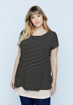 Ulla Popken - T-Shirt print - marine