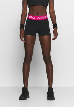 Nike Performance - Tights - black/fireberry/white