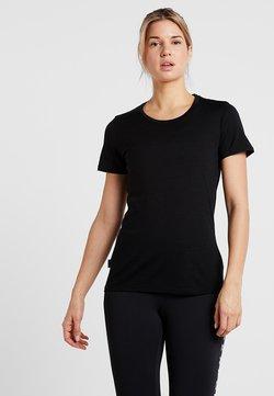 Icebreaker - TECH LITE LOW CREWE - T-Shirt basic - black