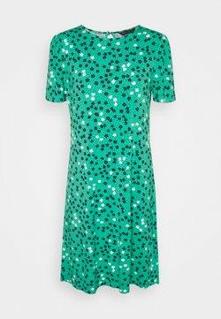Marks & Spencer London - DITSY SWING DRESS - Jerseykleid - green