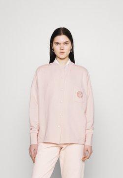 Nike Sportswear - FEMME - Felpa con zip - orange pearl/orange pearl/terra blush
