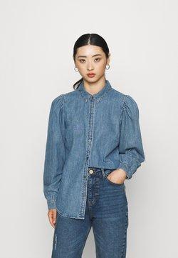 ONLY Petite - ONLROCCO LIFE SHIRT - Camisa - medium blue denim
