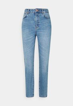 Noisy May Tall - NMISABEL MOM - Straight leg -farkut - light blue denim