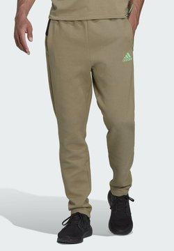 adidas Performance - M ZNE - Spodnie treningowe - green