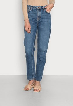 Nudie Jeans - LOFTY LO FAR OUT - Straight leg jeans - blue denim