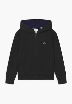 Lacoste Sport - TENNIS - Sweatjacke - black/navy blue