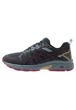 ASICS - GEL-VENTURE 7 - Zapatillas de trail running - graphite grey/dried berry