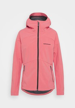 Peak Performance - ADVENTURE HOOD JACKET - Outdoorjacke - alpine flower