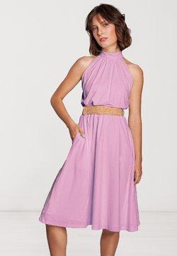 SinWeaver - MIT GÜRTEL  - Cocktailkleid/festliches Kleid - rosa