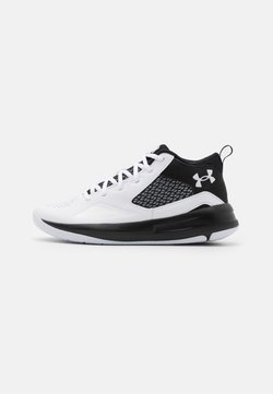 Under Armour - LOCKDOWN - Zapatillas de baloncesto - white