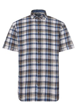 OLYMP - Hemd - braun blau