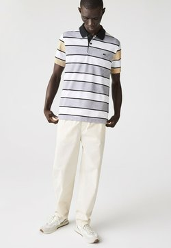 Lacoste - Poloshirt - heidekraut grau / weiß / beige / schwarz